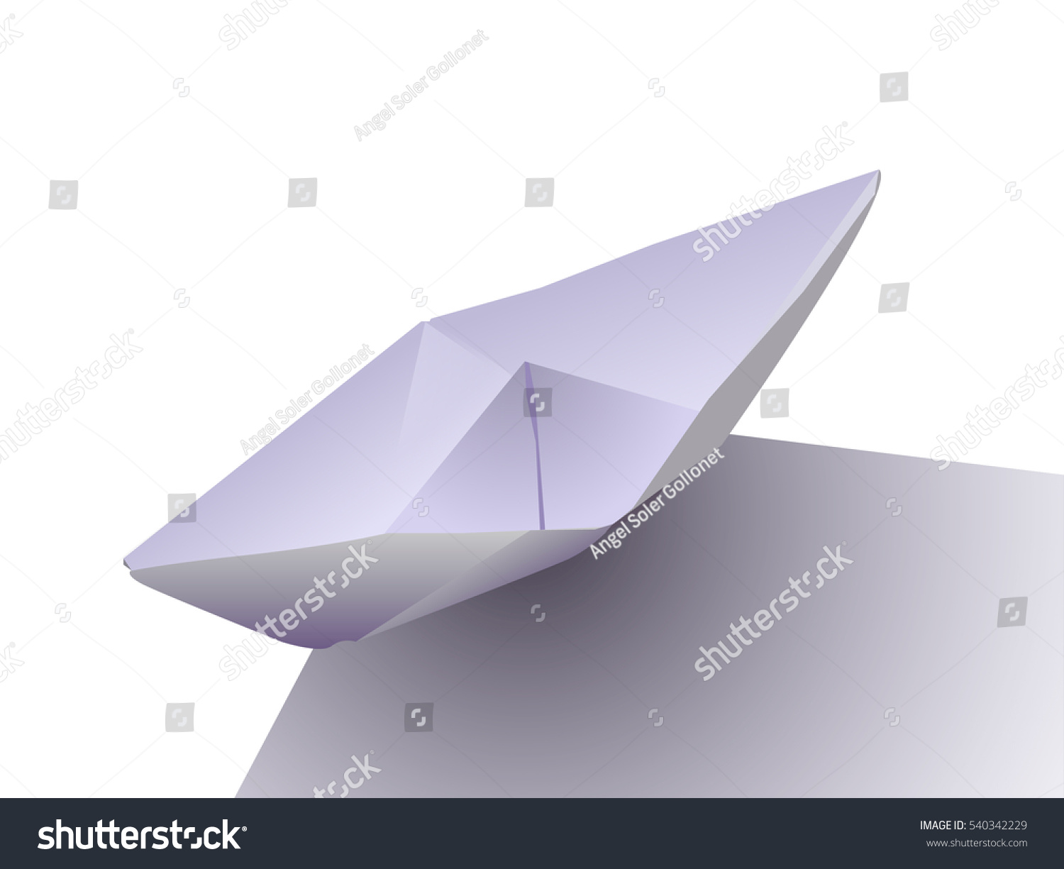 Paper Plane With Damaged Nose On Blue Background Concepts Crash Origami Angel Diagrams Failure Business Ez Canvas