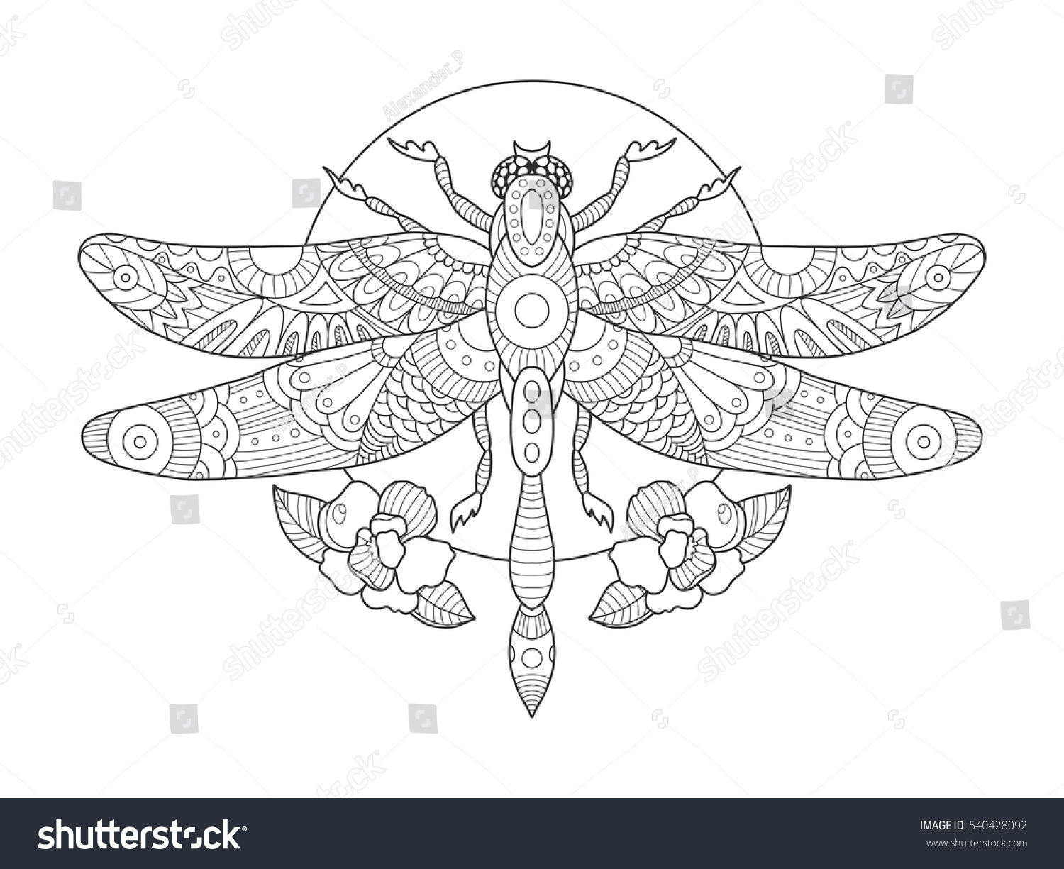 85 Dragonfly Coloring Book