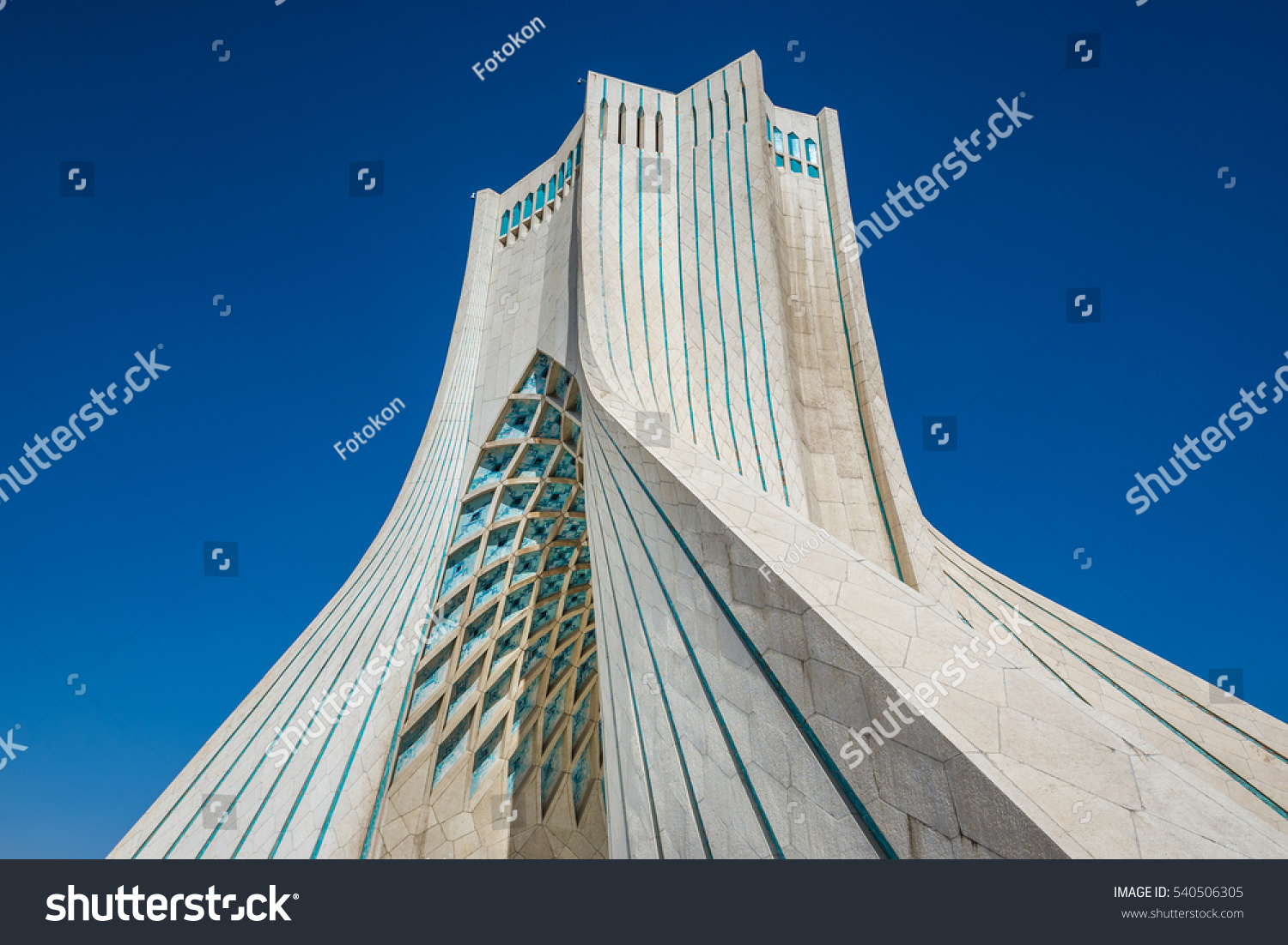 Tehran Iran 15th October 2016 Azadi Stock Photo 540506305 ...