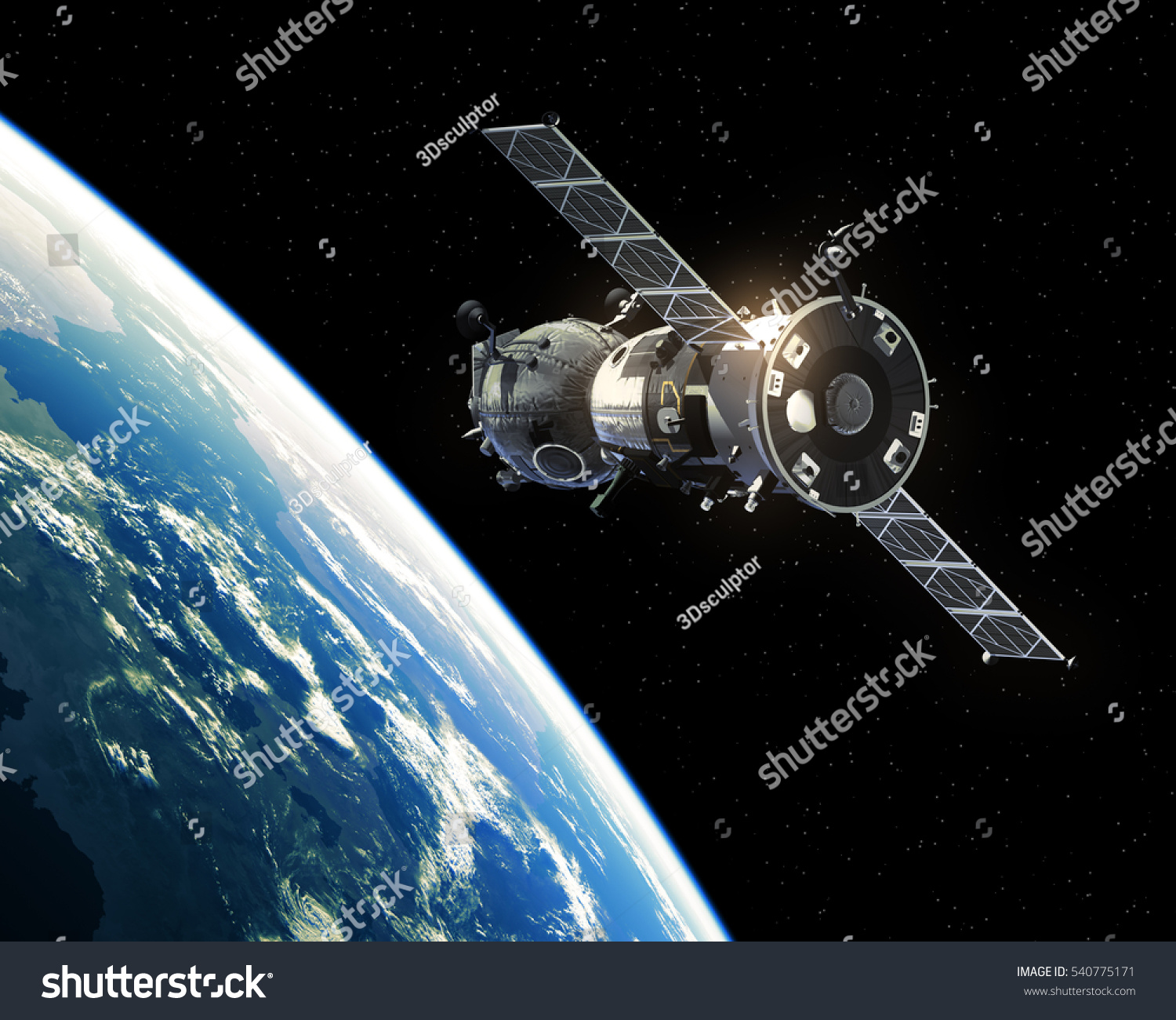 unknown spacecraft orbiting earth - photo #31