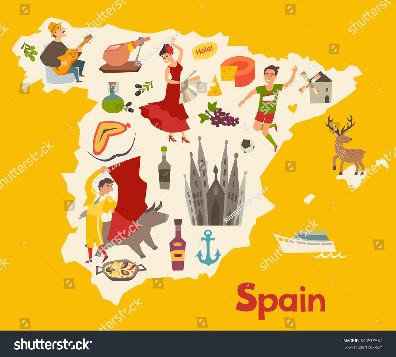 Kids Map Of Spain.Map Of Spain For Kids Twitterleesclub