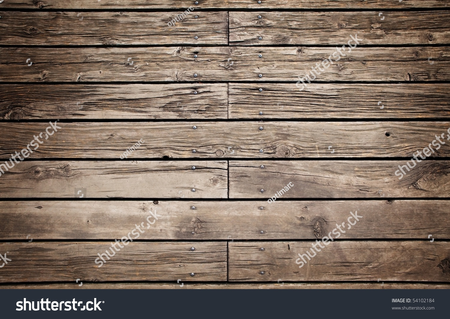 Superb img of Grungy Wooden Paneling Flooring Stock Photo 54102184 Shutterstock with #7F644C color and 1500x1066 pixels