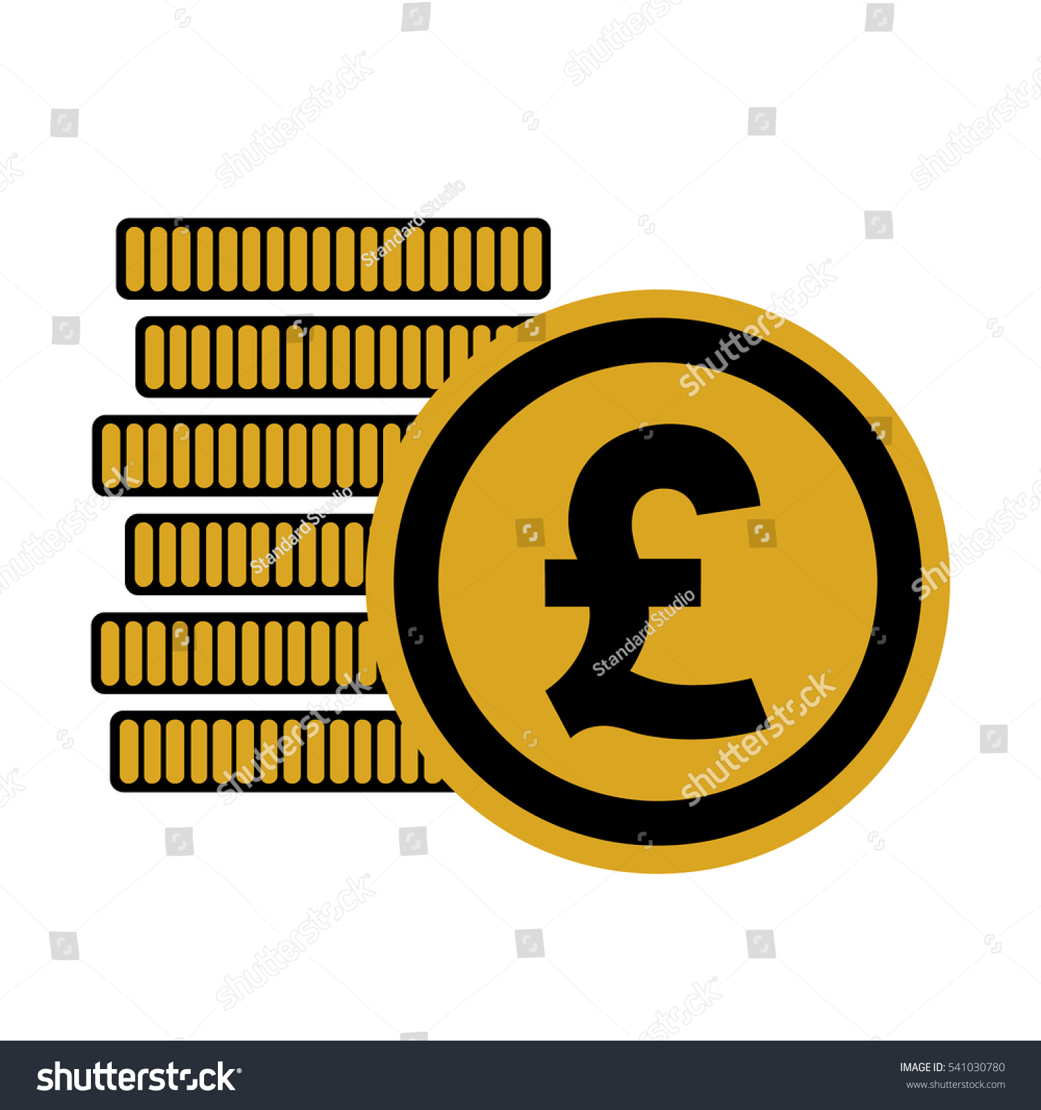 Currency symbol for british pound image collections symbols and british pound money coins sign gbp stock vector 541030780 british pound money coins sign gbp currency buycottarizona Choice Image