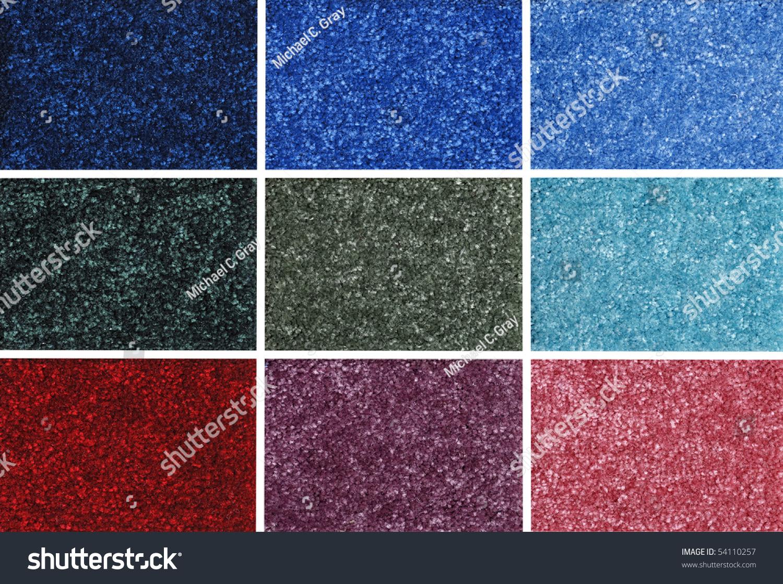 Colorful Carpet Samples Stock Photo 54110257 : Shutterstock