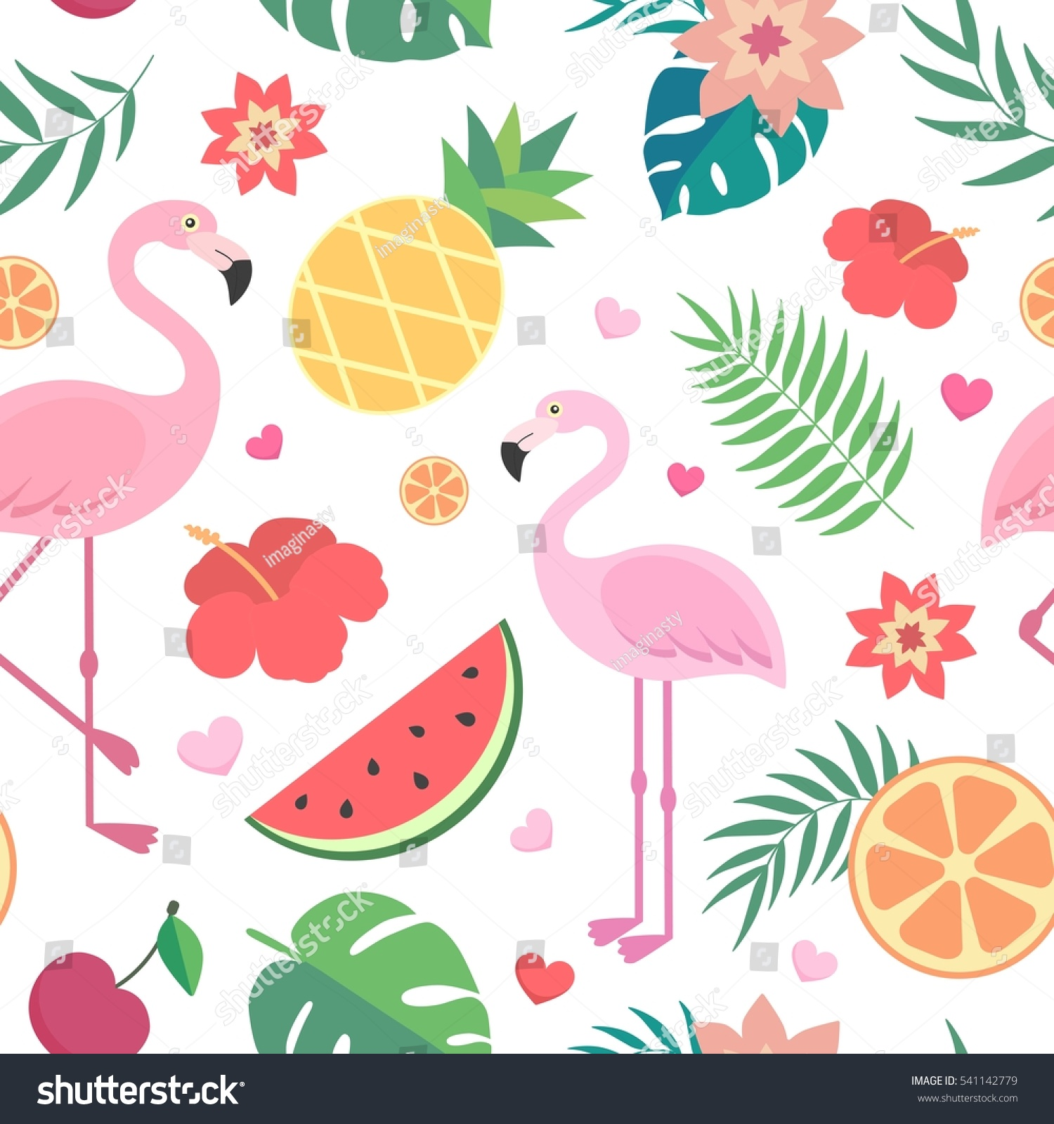 English rose garden wallpaper - Vector Seamless Tropical Pattern Palm Leaves Stock Vector 541142779