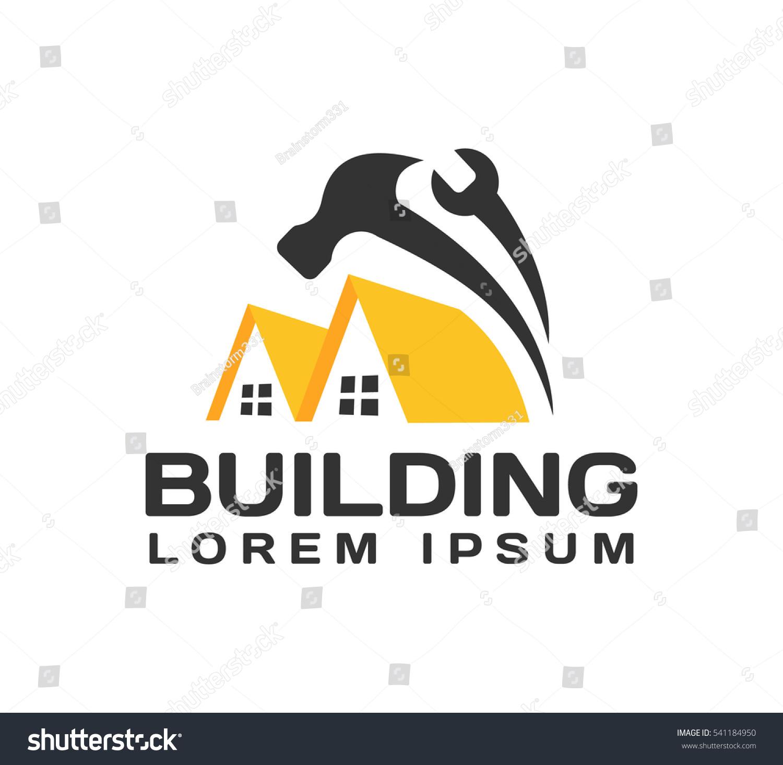 House Repair Logo House Real Estate Stock Photo (Photo, Vector ...