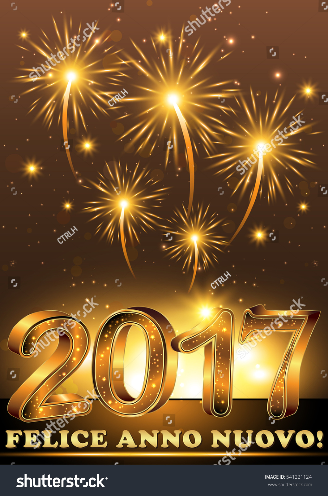 Happy new year 2017 italian language stock illustration 541221124 happy new year 2017 italian language felice anno nuovo elegant m4hsunfo