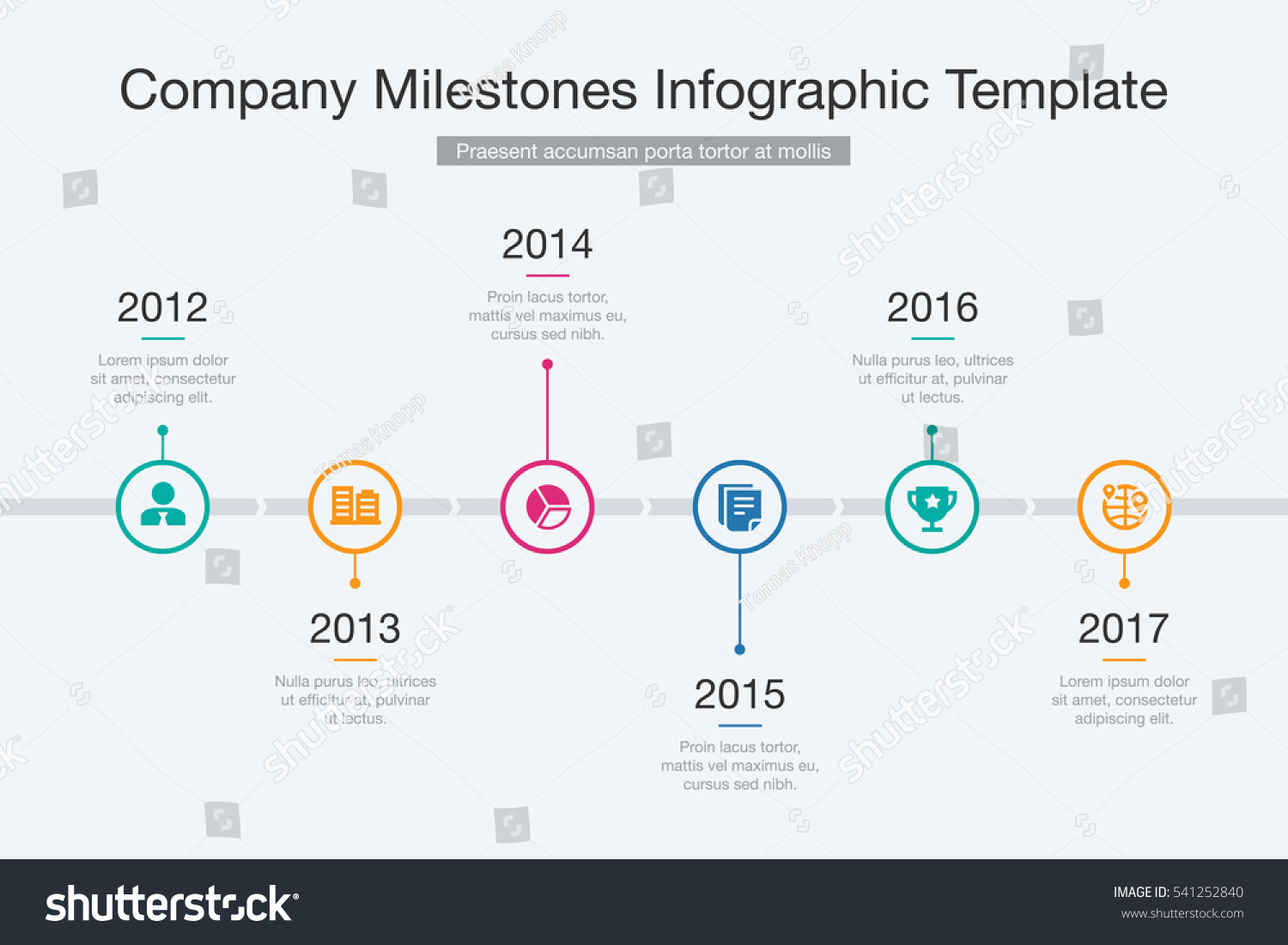 interactive timeline template