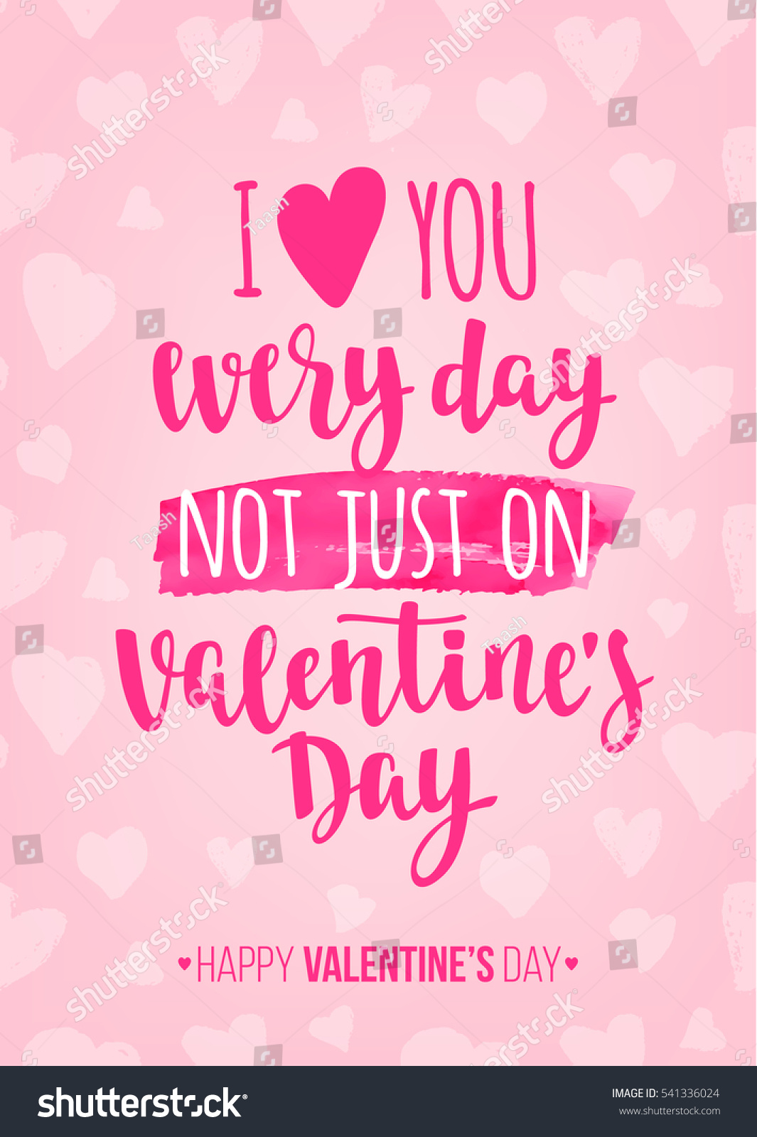 Valentines Day Quote Romantic Saying Posters Stock Vector ...   Valentine  Saying