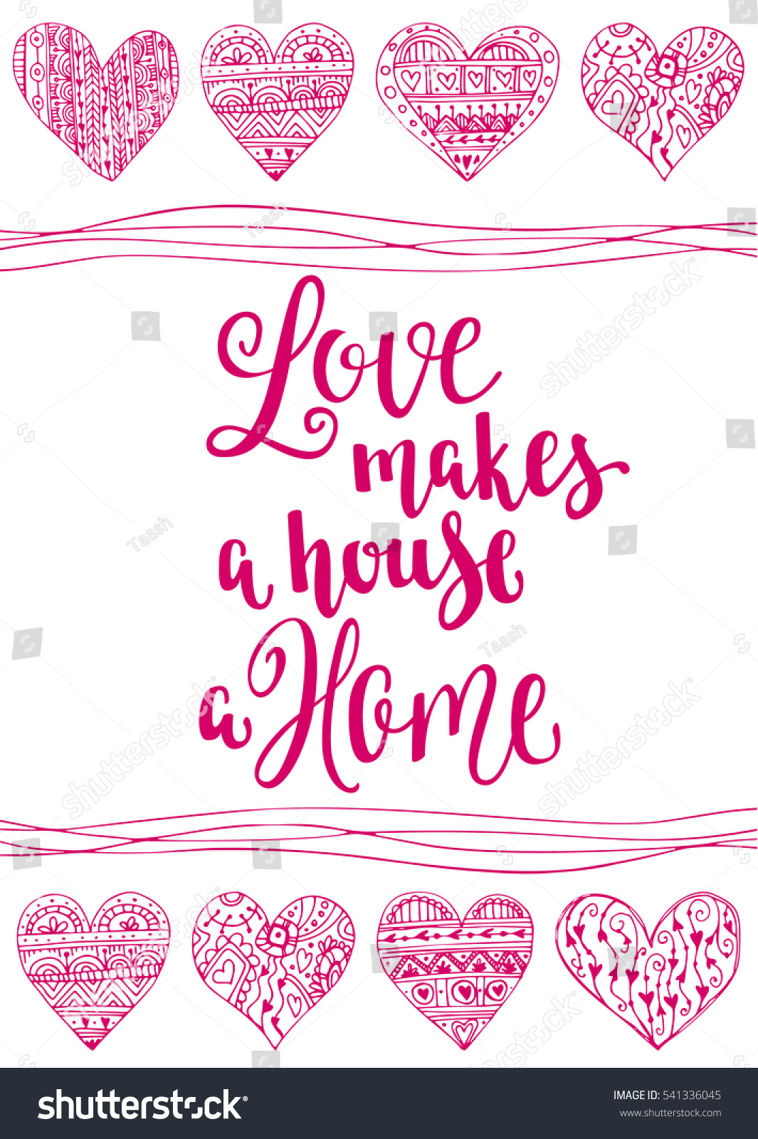 valentines day quote romantic saying posters stock vector 541336045 shutterstock