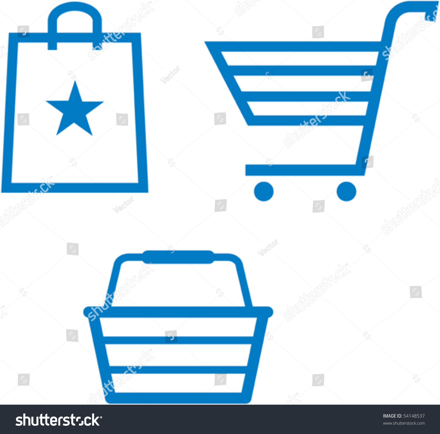 shopping items shopping cart shopping bag stock vector hd royalty rh shutterstock com
