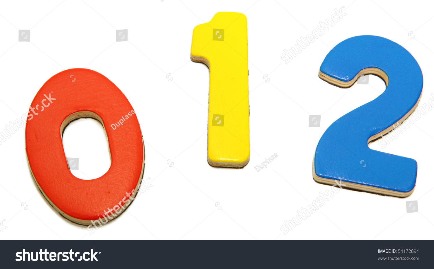 Colorful magnetic alphabet numbers over white 0 1 2 stock for White magnetic letters and numbers