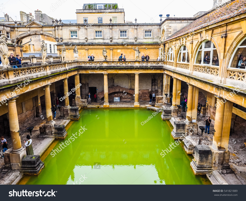 BATH UK CIRCA SEPTEMBER 2016 HDR Stock Photo (Royalty Free ...