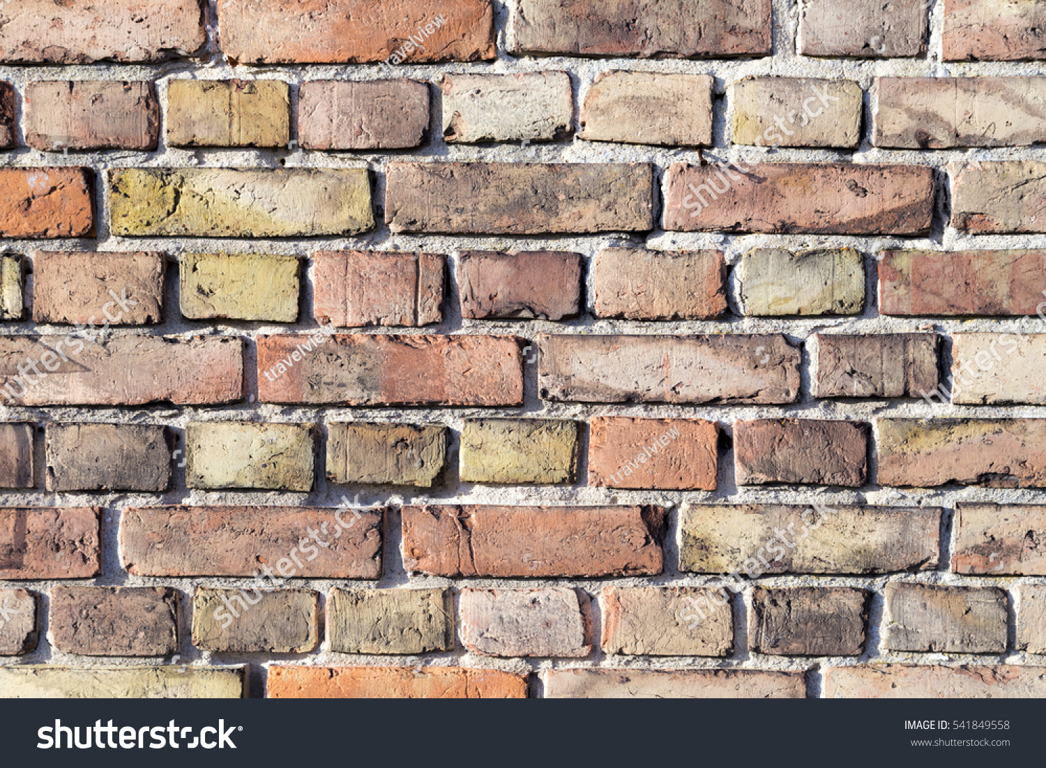 Old grunge exterior red brick wall stock photo 541849558 for Exterior background