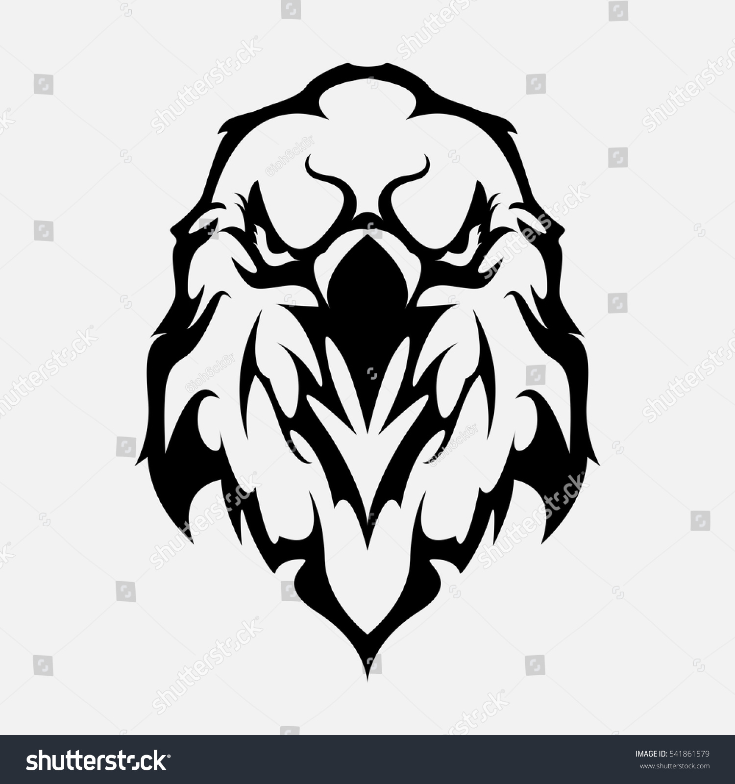 Angry eagle head logo emblem template stock vector 541861579 angry eagle head logo emblem template mascot symbol for business or shirt design vector vintage biocorpaavc Images