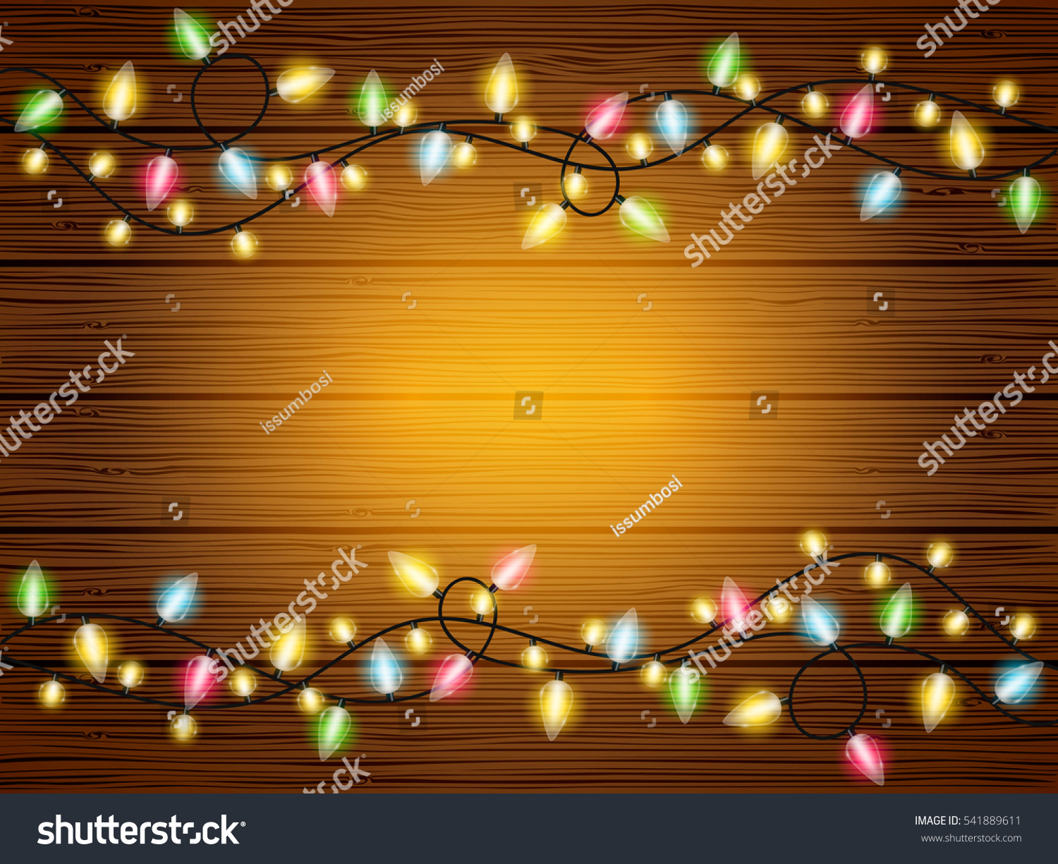 Amazing Wallpaper Christmas Wood - stock-vector-vector-holiday-wood-texture-wallpaper-background-with-colorful-light-chains-541889611  Graphic_515443 .jpg