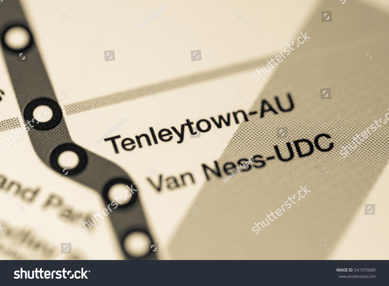 Subway Map Of Buesnos Aries Olleros Station.Tenleytown Au Station Washington Dc Stock Photo 541970689 Avopix Com