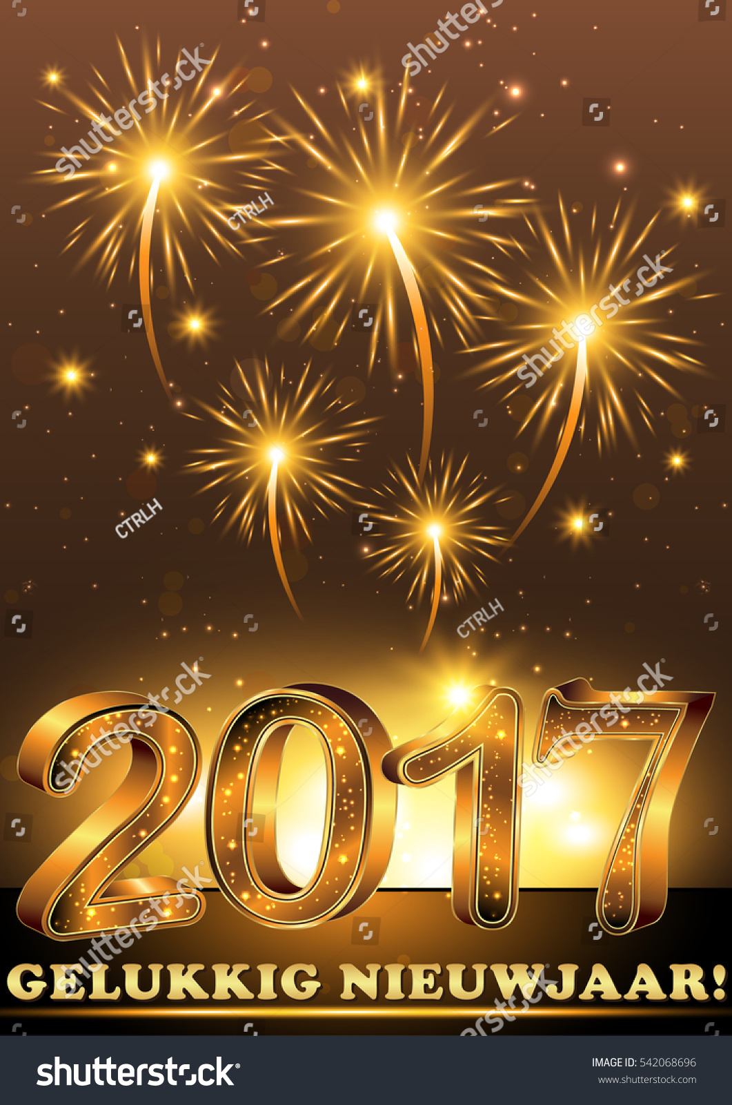 happy new year 2017 gelukkig nieuwjaar dutch greeting card background