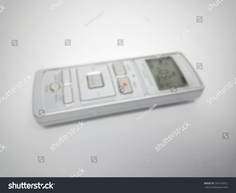 Blur Image Digital Voice Recorder Stock Photo Edit Now 542142412 Circuit Of