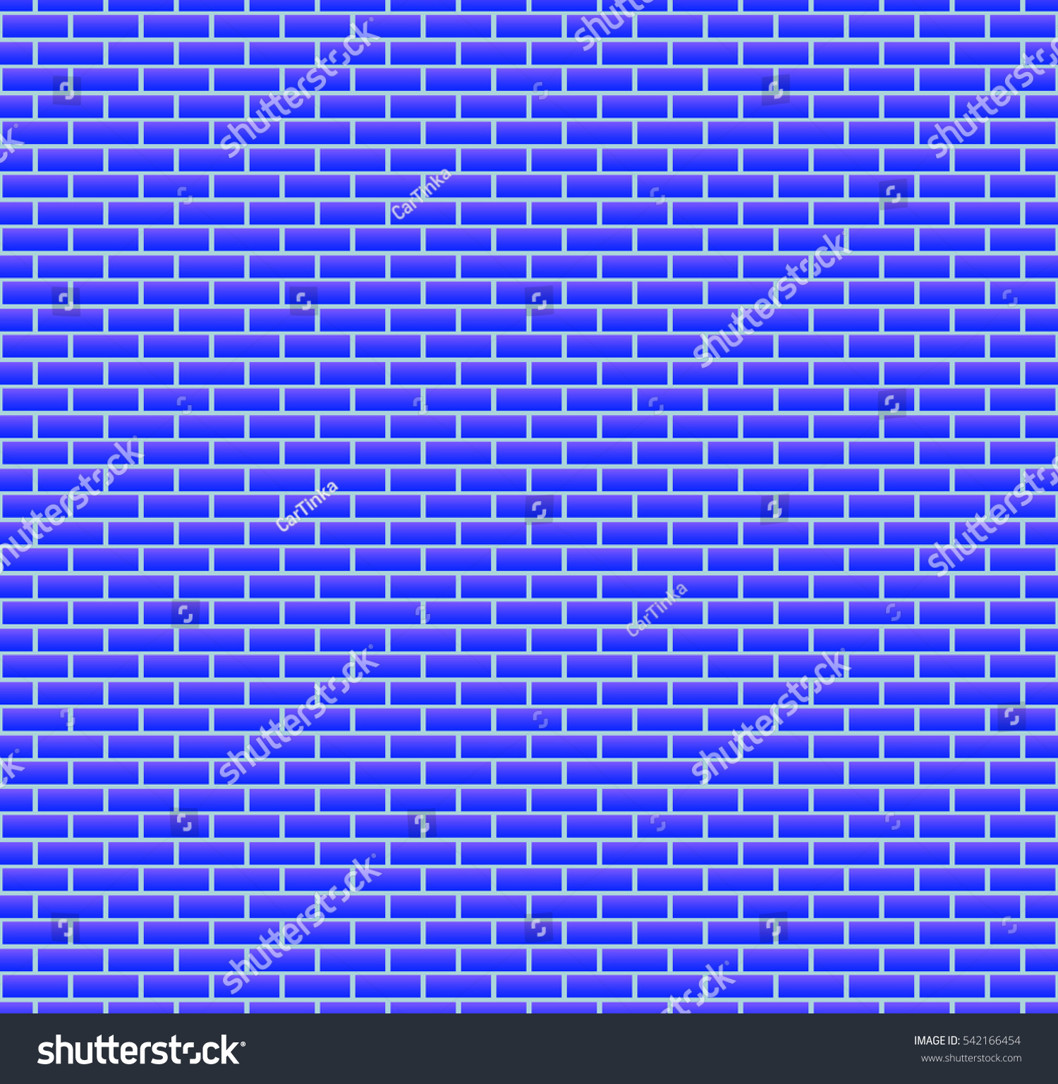 Background Blue Brick Wall Seamless Wallpaper 542166454