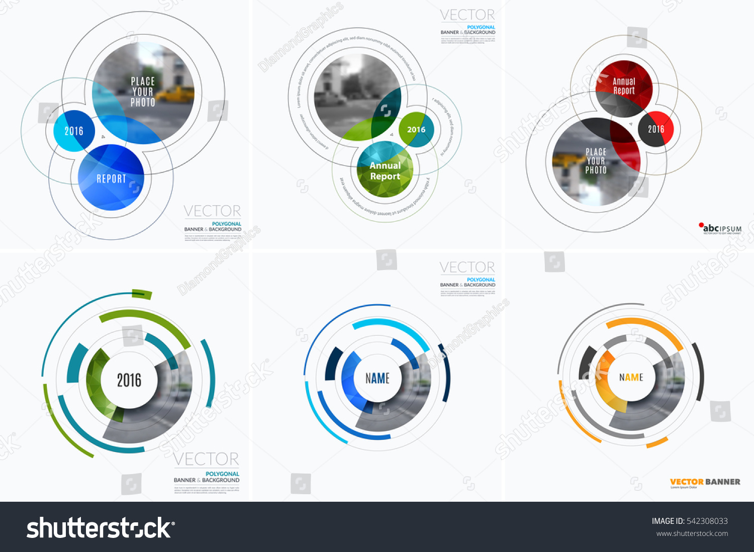 Business Vector Design Elements Graphic Layout Stock Vector ...