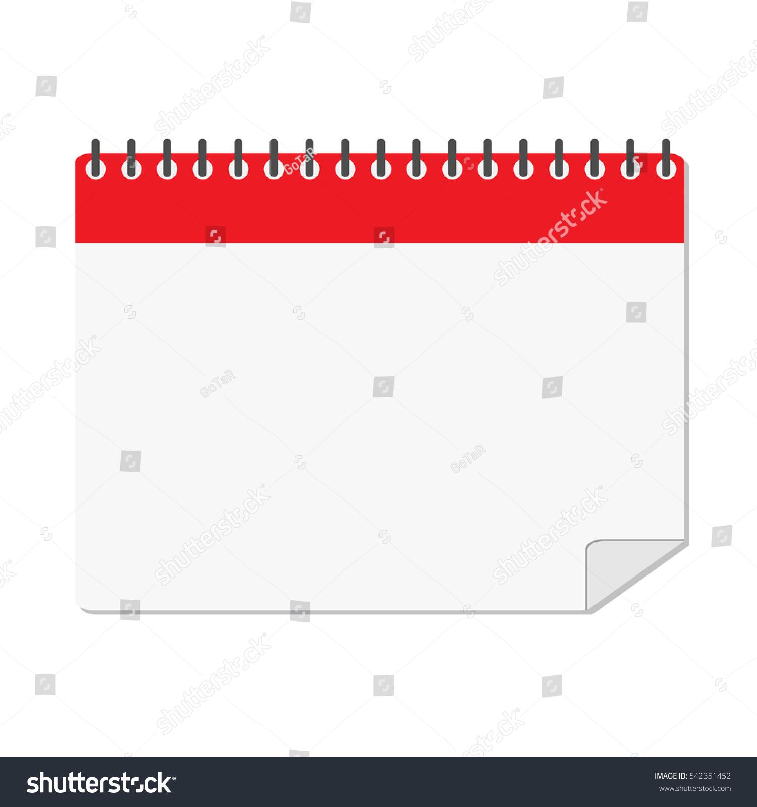 Calendar Reminder Design : Calendar reminder isolated icon design vector stock