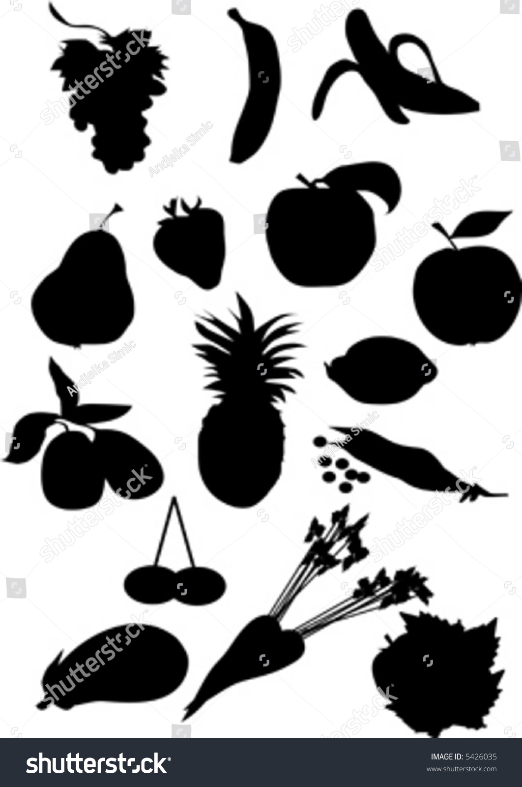 Fruit Bowl Silhouette   www.imgkid.com - The Image Kid Has It!