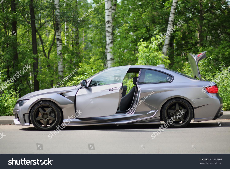 Moscow Jun 19 2016 Silver Sportscar Stock Photo Edit Now 542752807
