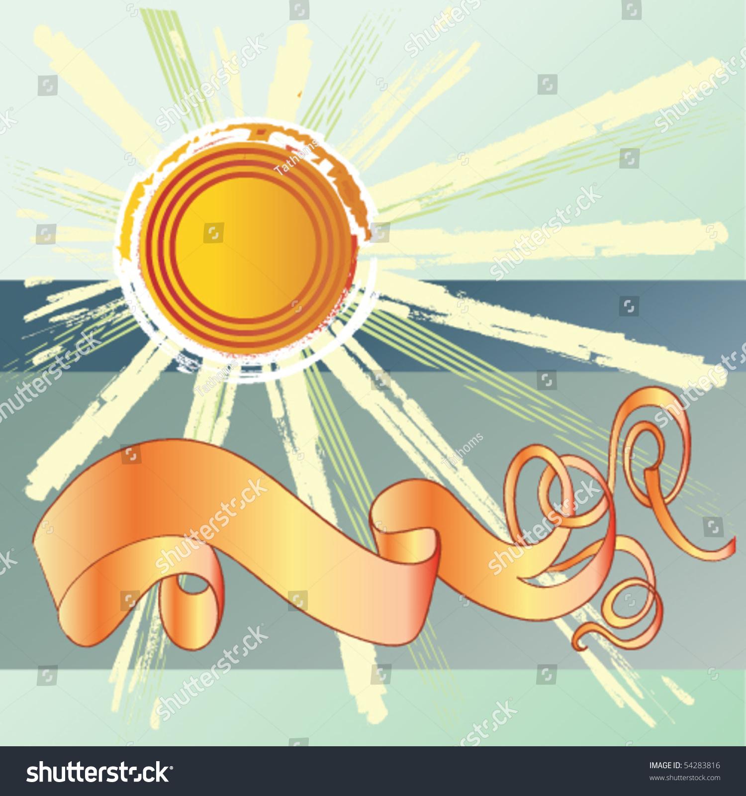 stock-vector-sunny-cartouche-54283816.jp