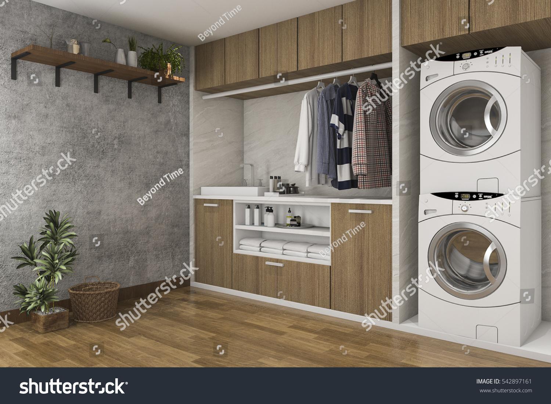 incredible wood wall laundry room 9