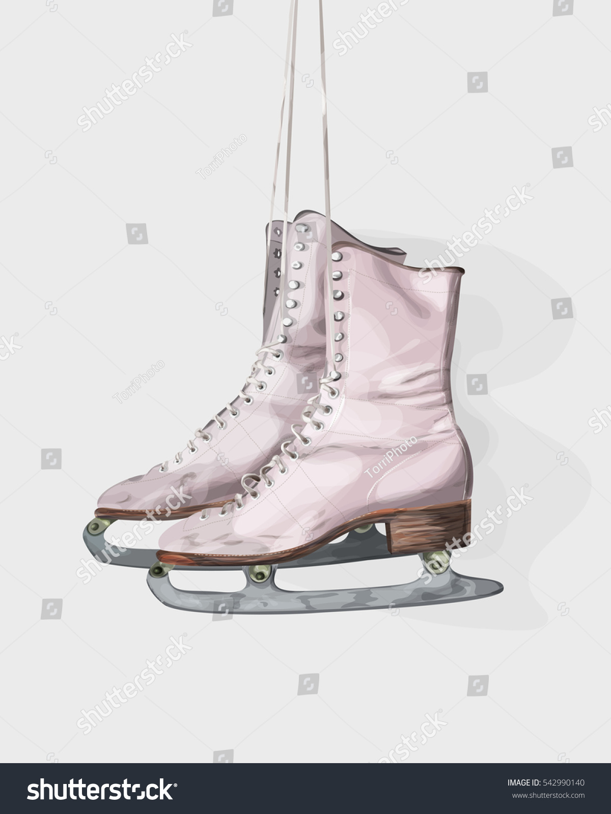 https://www.shutterstock.com/image-illustration/pair-pink-vintage-ice-skates-hanging-542990140