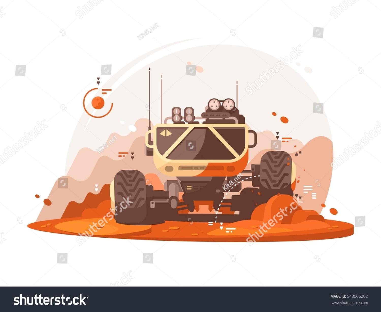 mars rover vector - photo #25