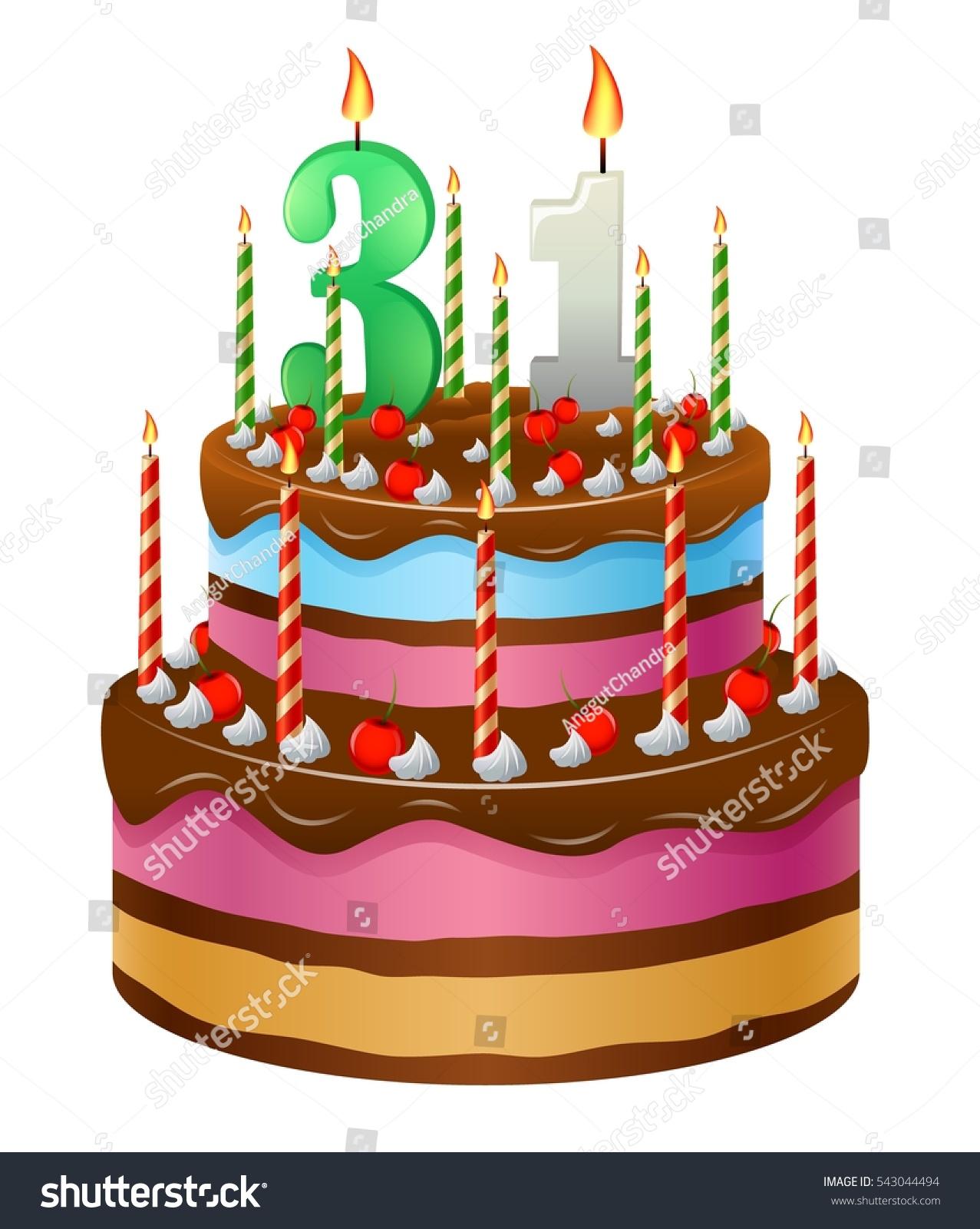 Happy Birthday Cake 31