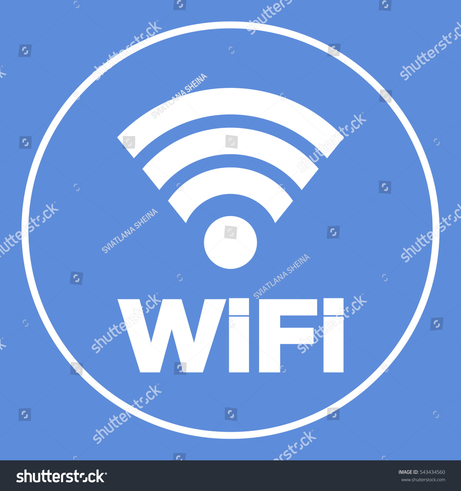 Internet connection symbol icon stock vector 543434560 shutterstock internet connection symbol icon buycottarizona Images