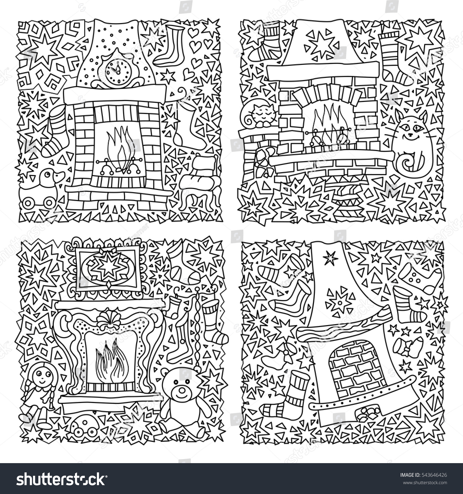 vector fantasy illustration fairy tale house stock vector