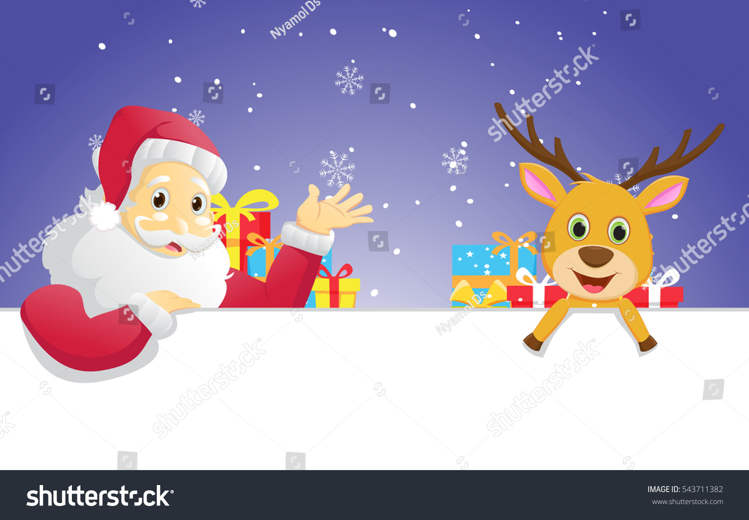 a creative story about santa and his reindeer The history and origin of santa claus posted on december 19, 2008 | 1 comment the story of st nic, his red suit, his reindeer and little helpers.