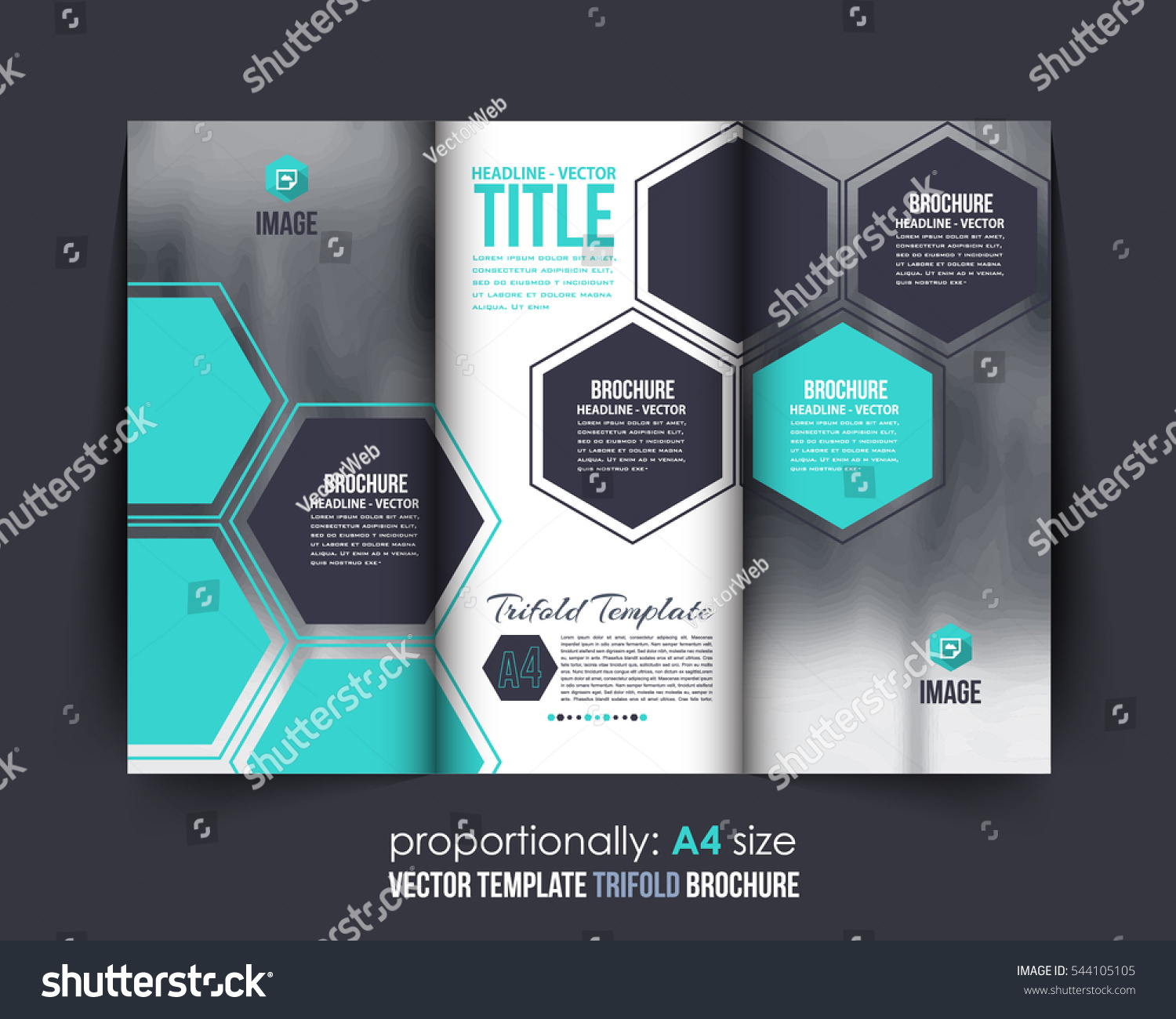 a document and brochure vector background corporate trifold a4 document and brochure vector background corporate trifold leaflet textbook cover design