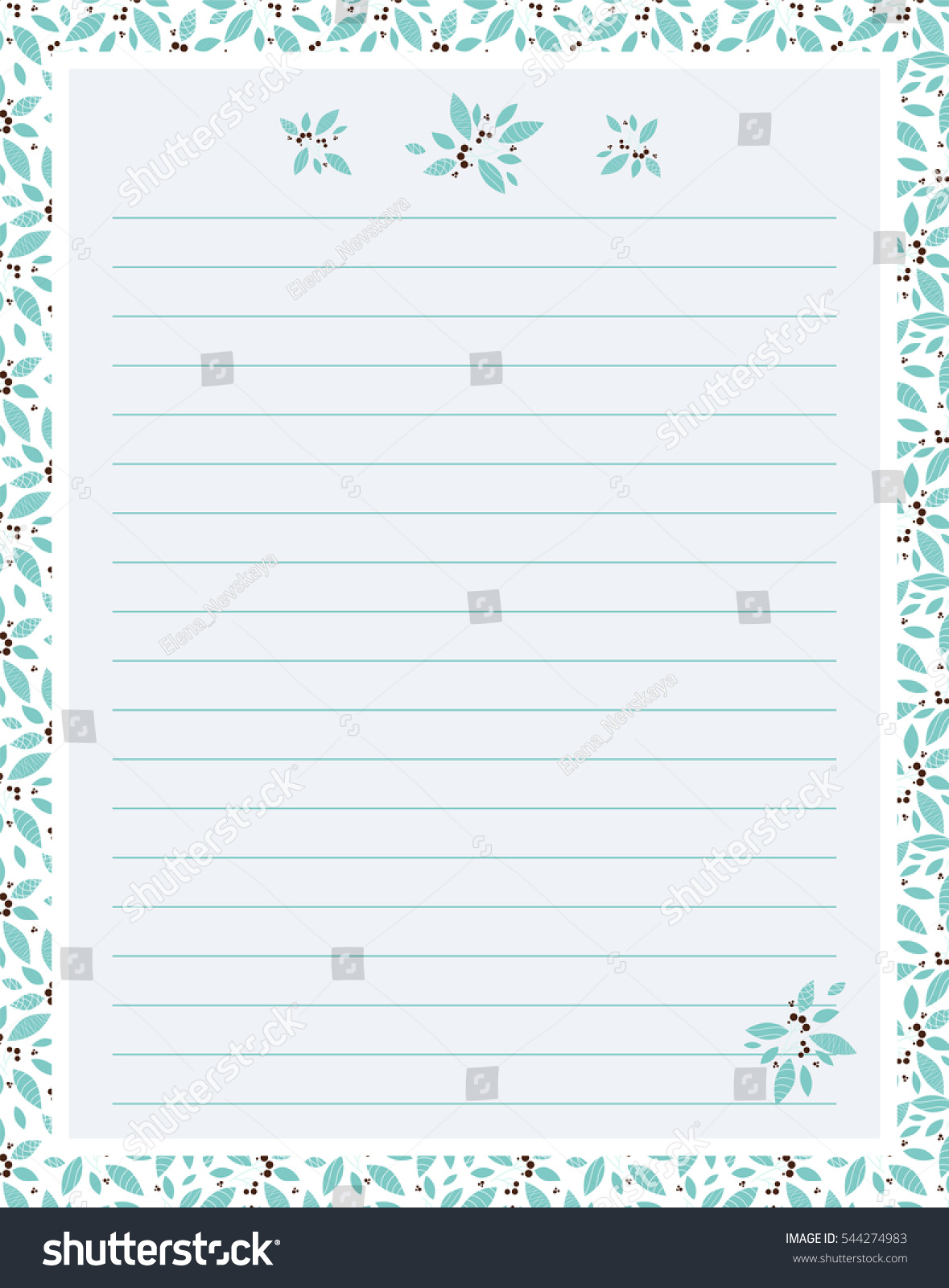 Vector Printing Paper Note Cute Paper Vector 544274983 – Lined Printing Paper