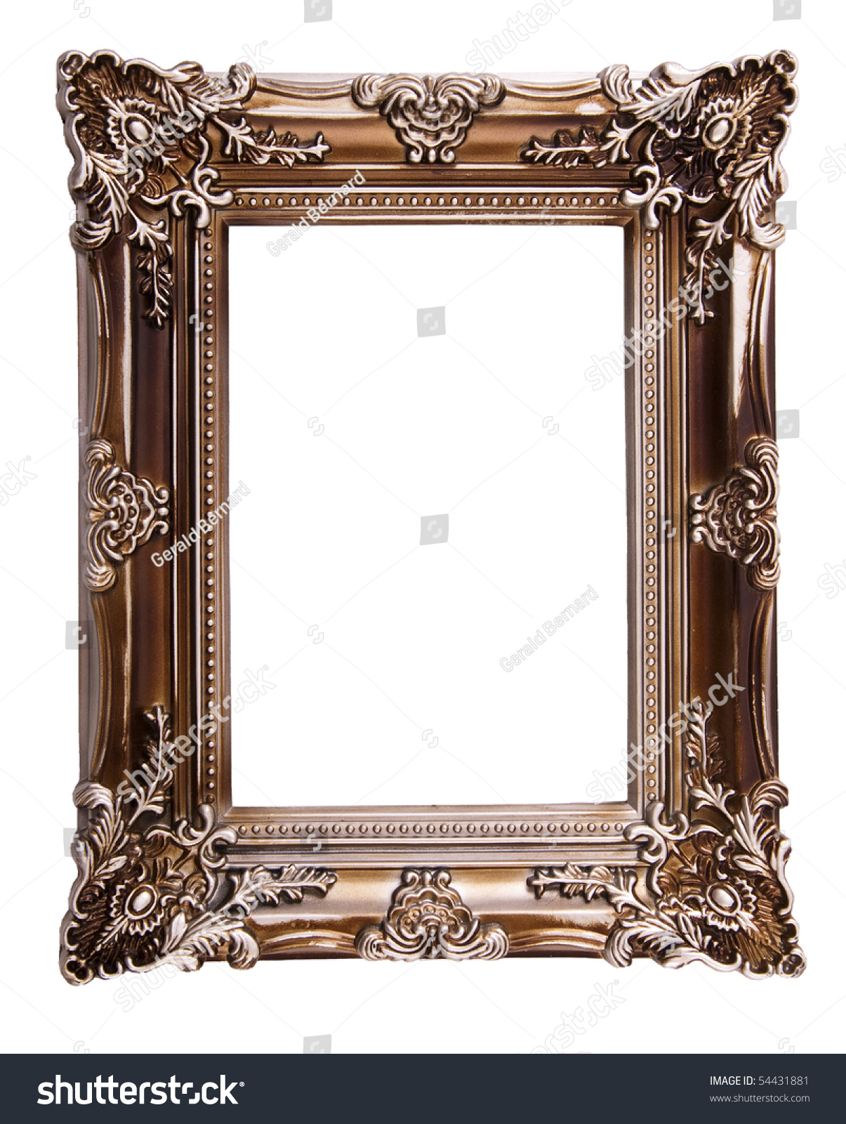 Fancy Picture Frame Stock Photo 54431881 Shutterstock