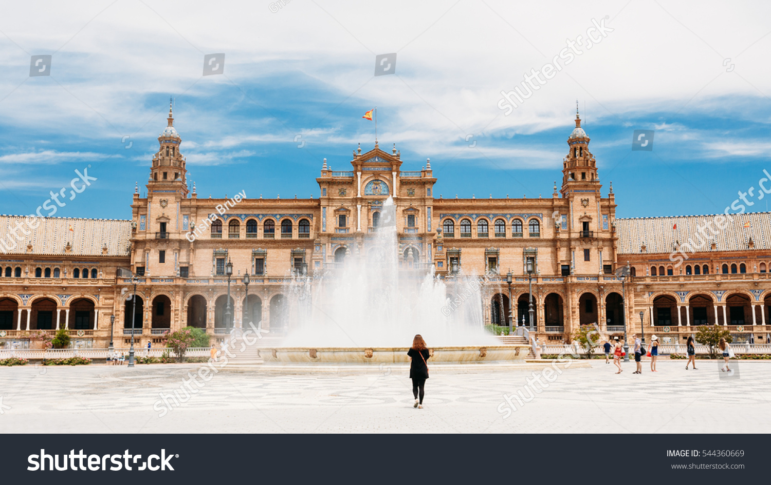 Sightseeing Place In Seville And Food