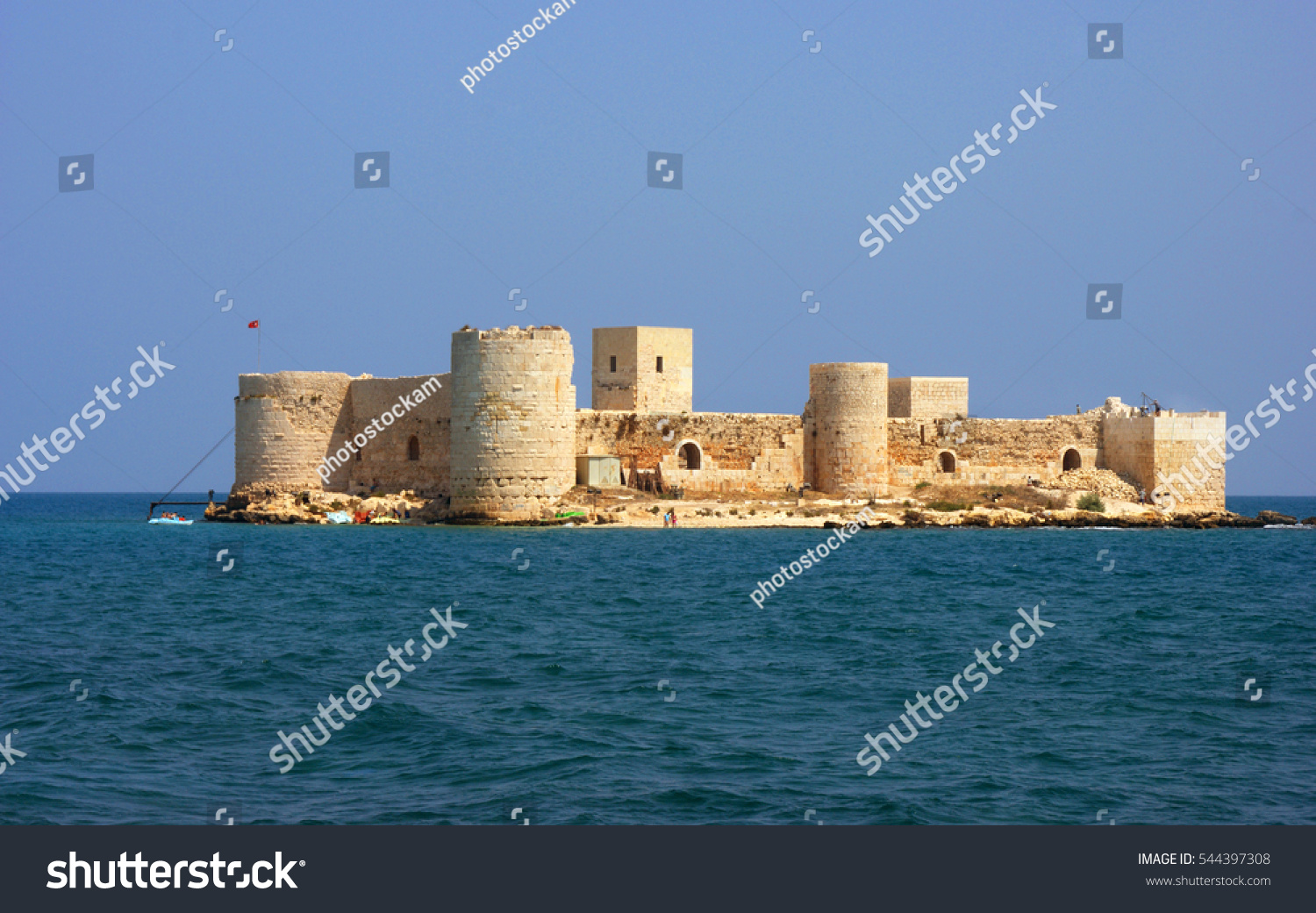 Corycus Or Corycus Or Corycos Historical Crusaders Castle ...