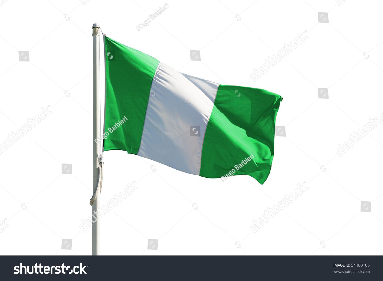 Full Nigeria Flag Stock Shutterstock