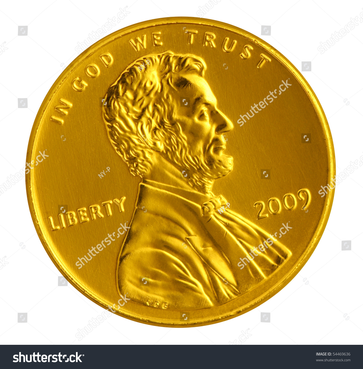 Gold penny stock photo image royalty free 54469636 shutterstock gold penny publicscrutiny Images