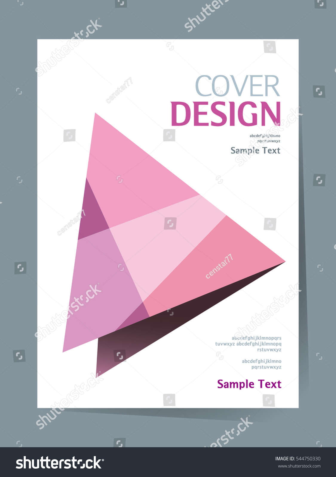 Simple Book Cover Design : Book cover design vector template a stock
