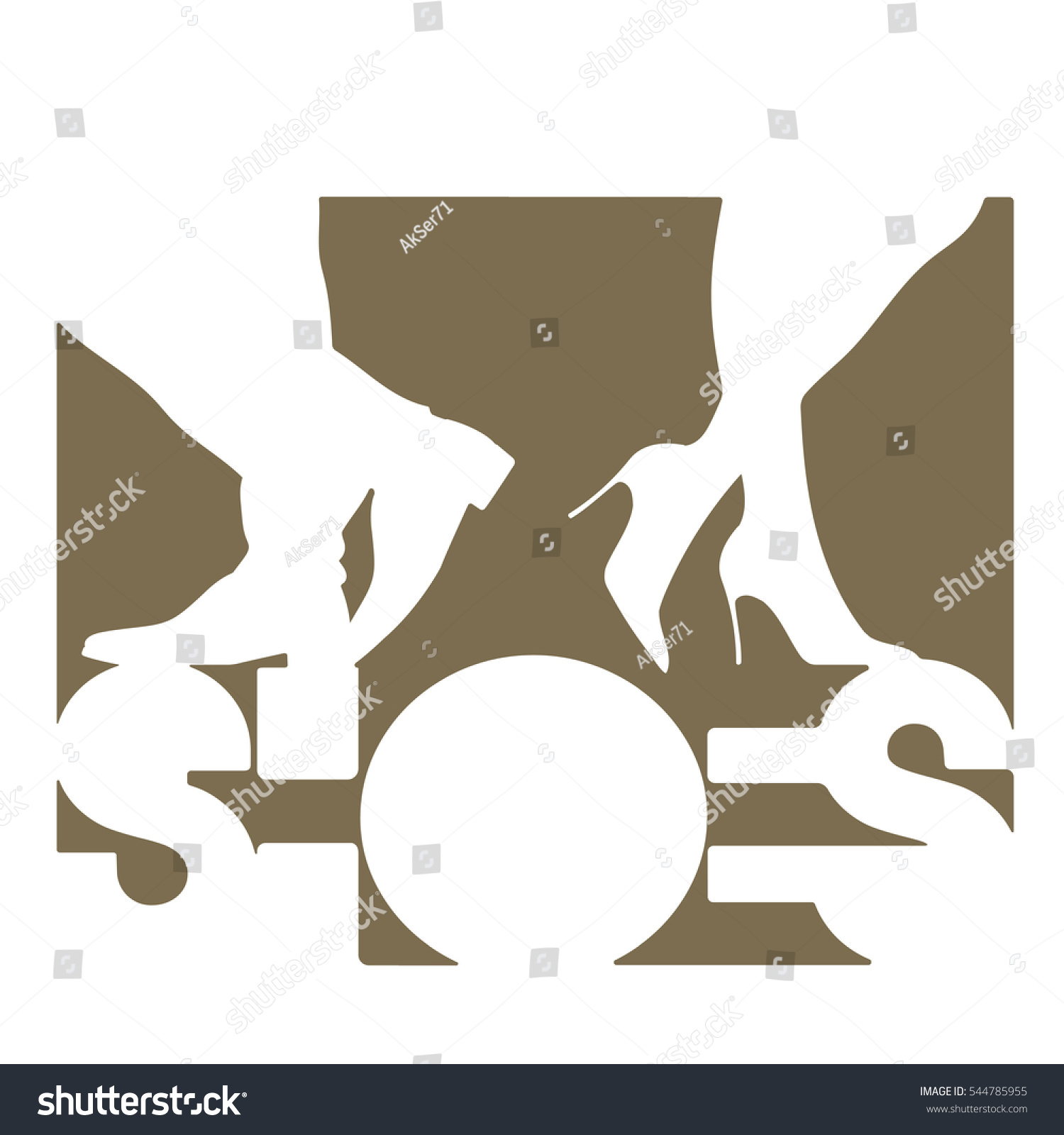 Vector illustration depicting word shoes on stock vector 544785955 vector illustration depicting the word shoes on a white background publicscrutiny Images