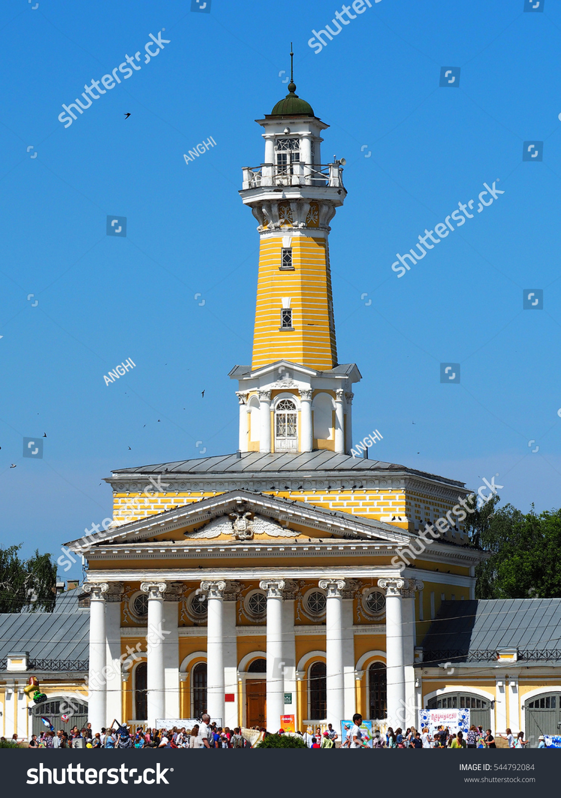 Fire tower (Kostroma): the ancient symbol of the modern city 94
