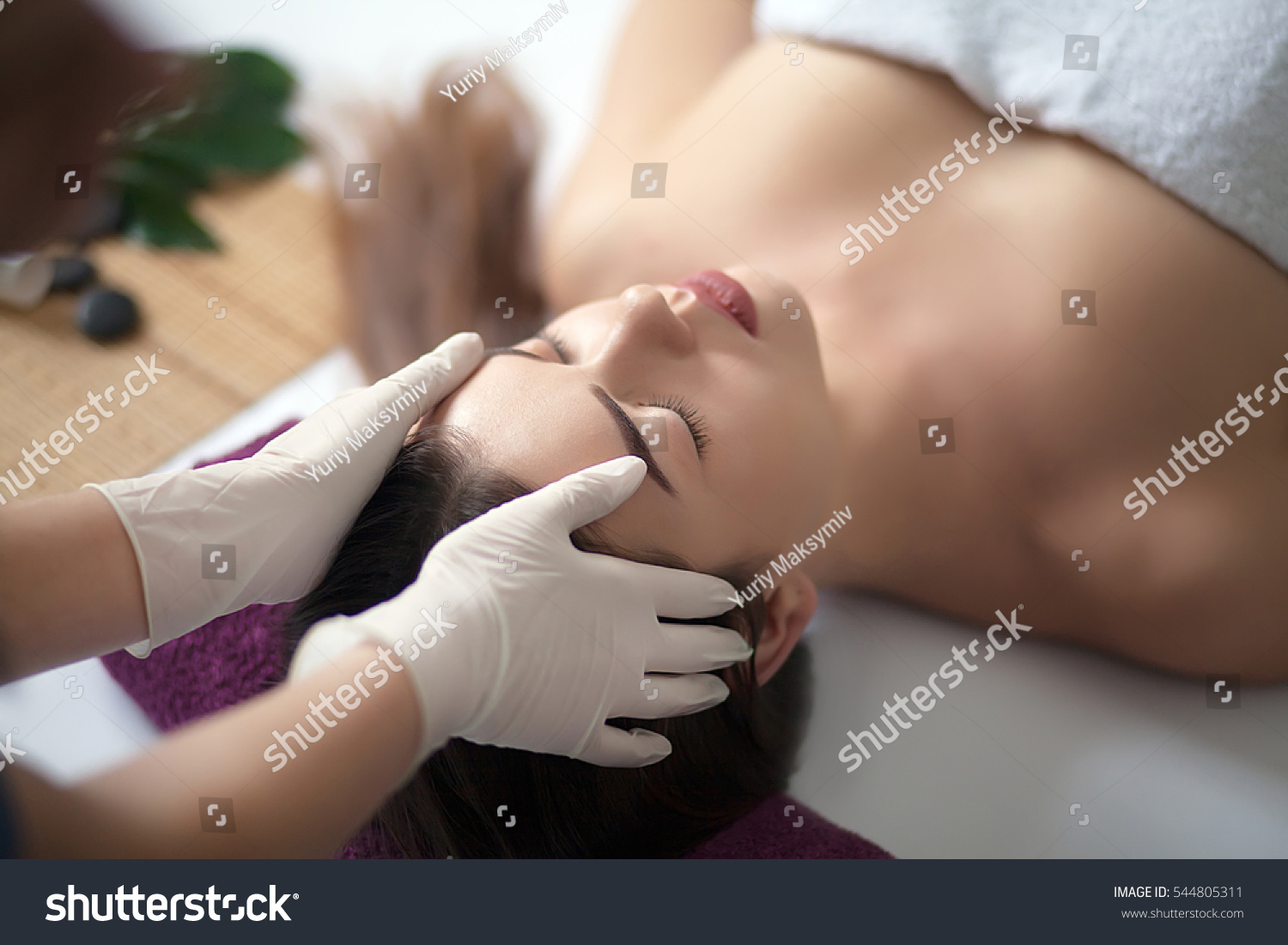 Skin body care closeup young woman stock photo 544805311 shutterstock - Salon massage body body paris ...