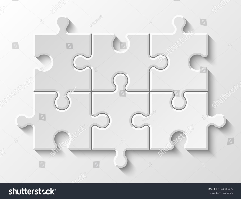 Puzzle piece business presentation circle infograph stock vector puzzle piece business presentation circle infograph step process diagram section compare banner ccuart Choice Image