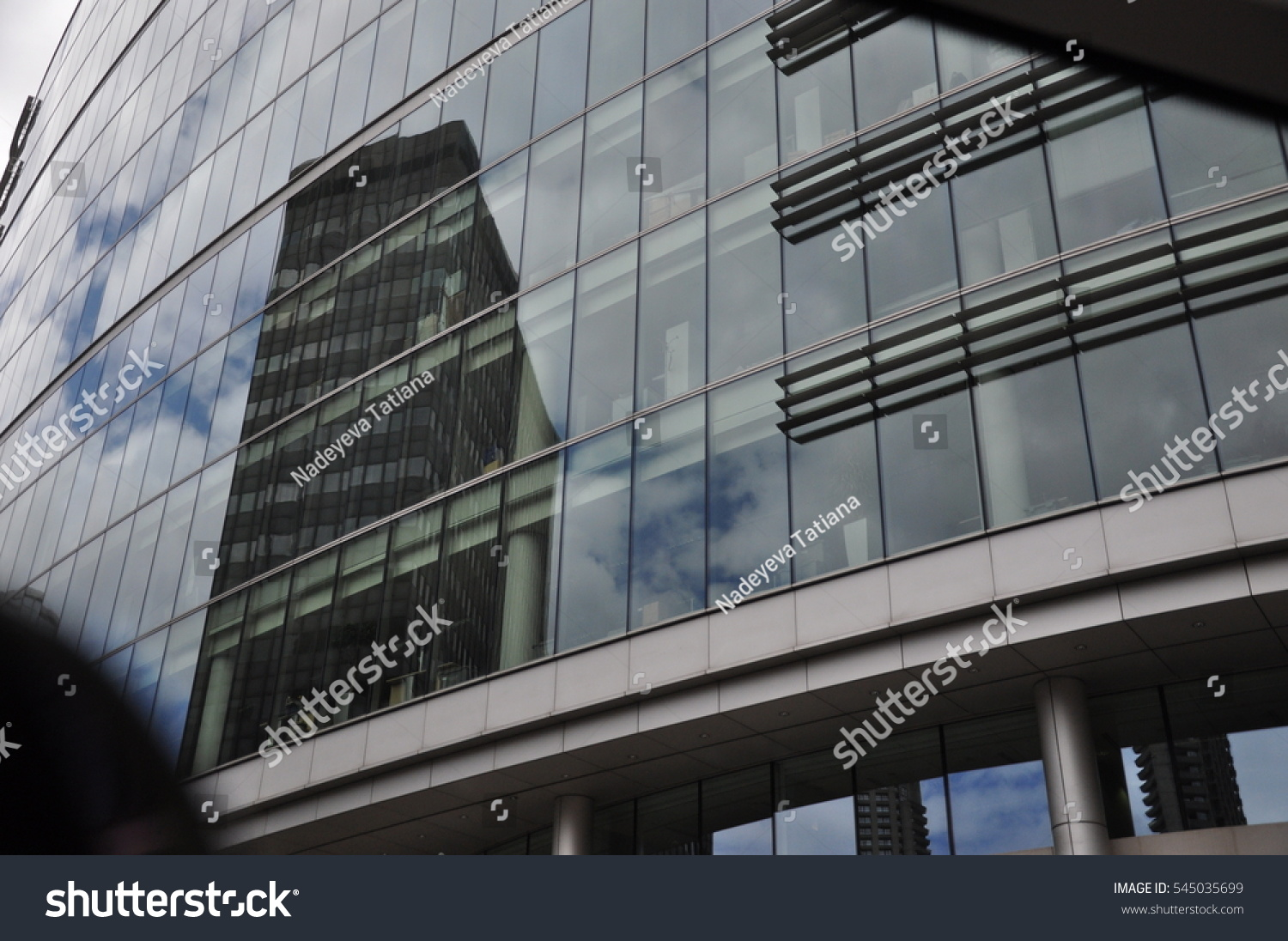 Building Glass Reflection Stock Photo 545035699 - Shutterstock