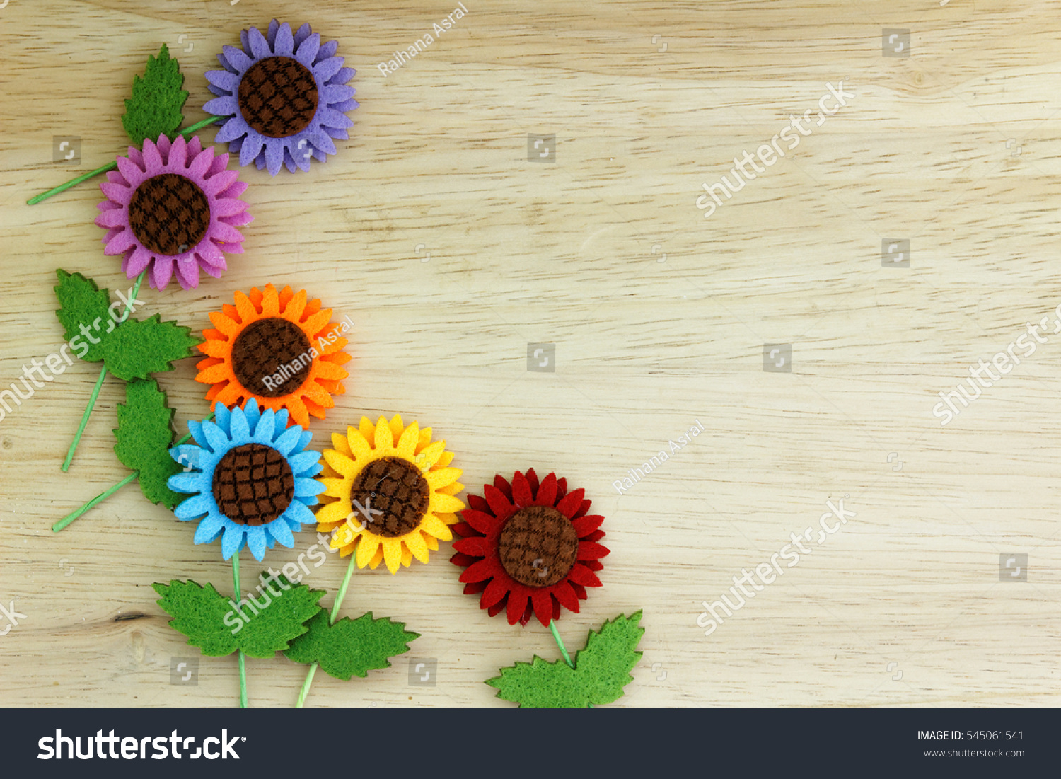 Colourful 2 D Doityourself Paper Flower On Stock Photo Edit Now